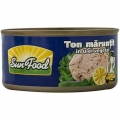 Ton maruntit in ulei vegetal SunFood 170g