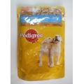 Pedigree Junior cu Pui in Aspic Umed 100g
